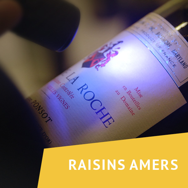 Raisins amers